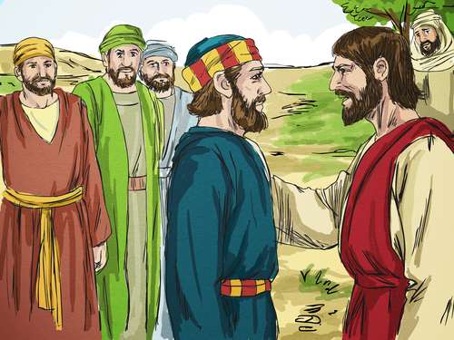 jesus and peter clipart - photo #34